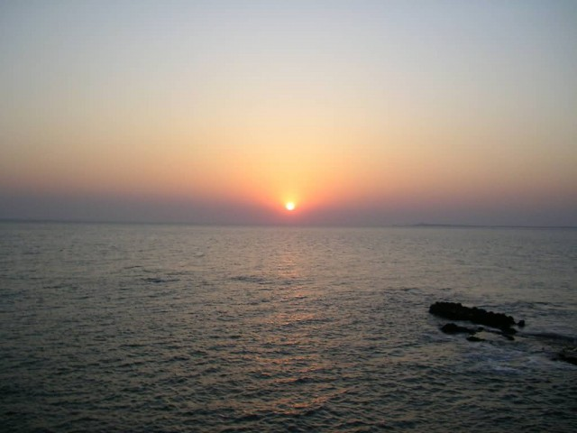 Sunset In Diu