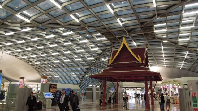 Suvarnabhumi Airport Terminal Bangkok
