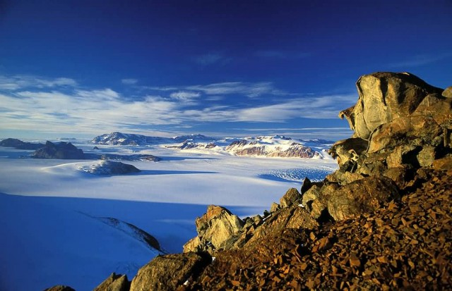 Trans-Antarctic Mountains