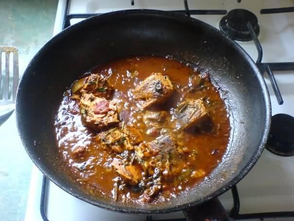 Tuna Fish Curry