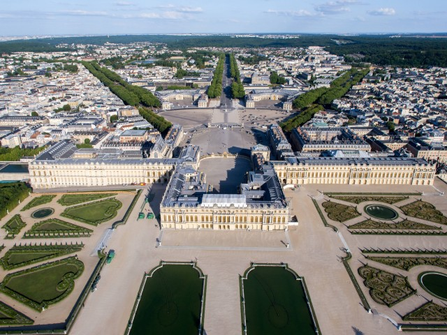 Aerial View Of Versailles Palace