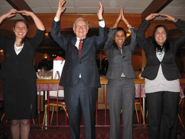 Warren Buffet And O H I O