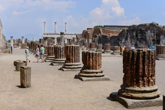 Ancient Roman Pompeii, Italy