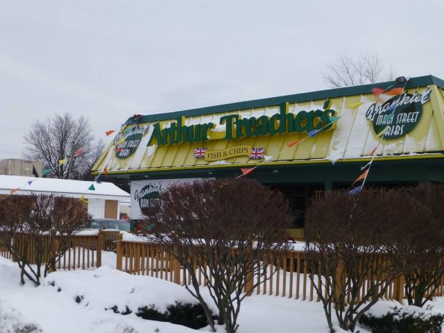 Arthur Treacher's Fish And Chips In Warren