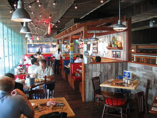 Bubba Gump Restaurant In Hong Kong
