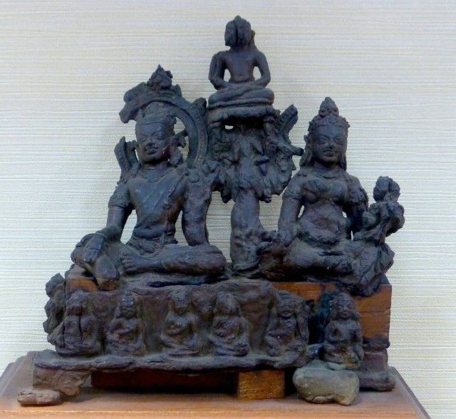 Buddha Avalokiteshvara And Tara At Patna Museum