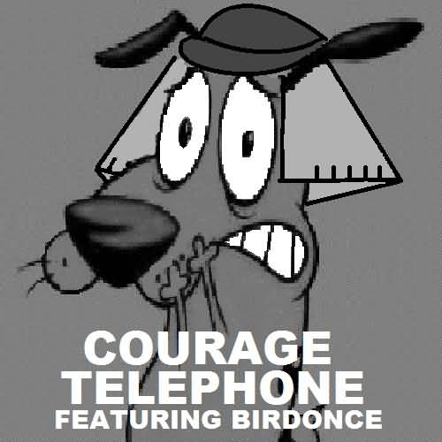 Cover Art Of Courage Dog