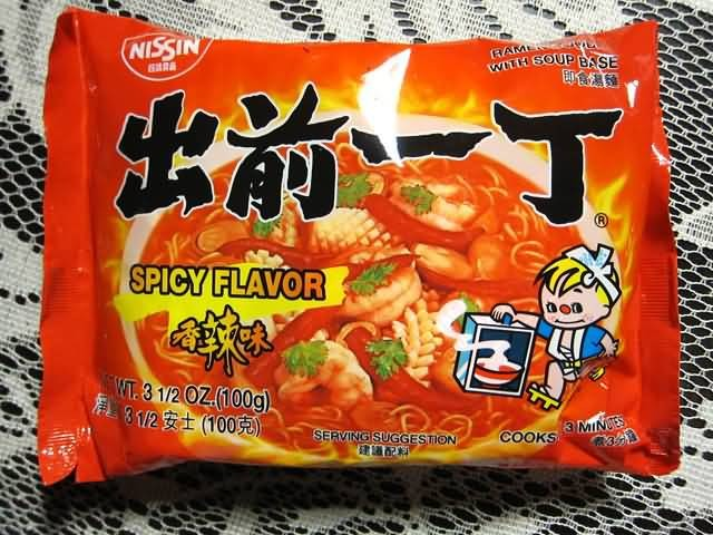 Nissin Spicy Flavor