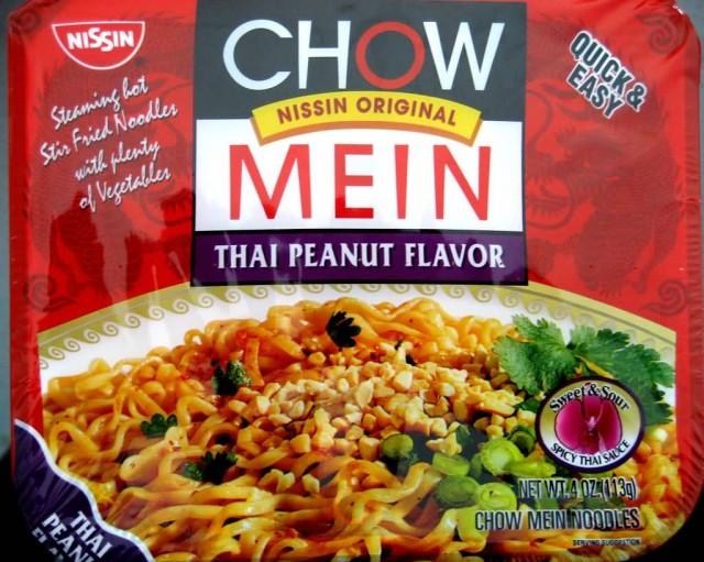 Nissin Thai Peanut Chow Mein
