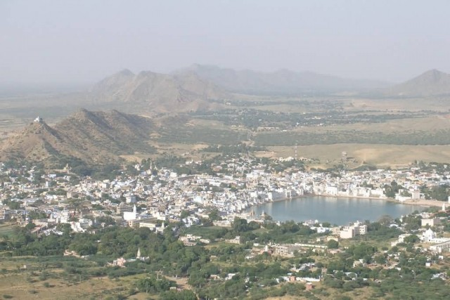 Pushkar Town Around The Lake