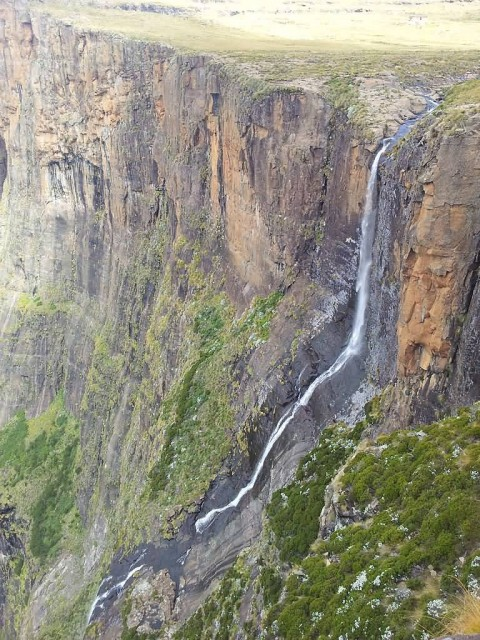 Tugela Falls In Summer