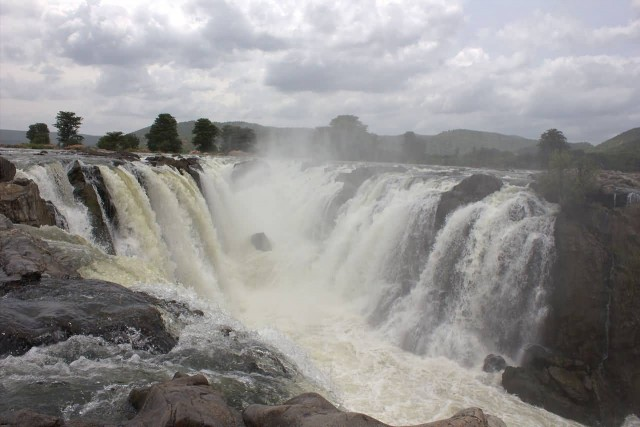 View Of Hogenakkal Waterfall