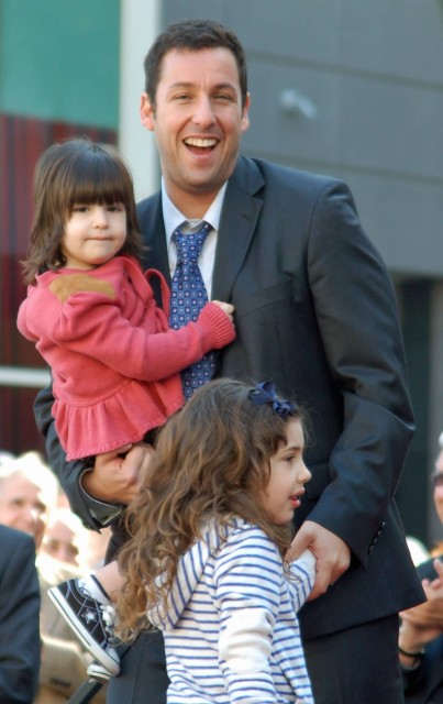 Adam Sandler & Daughters