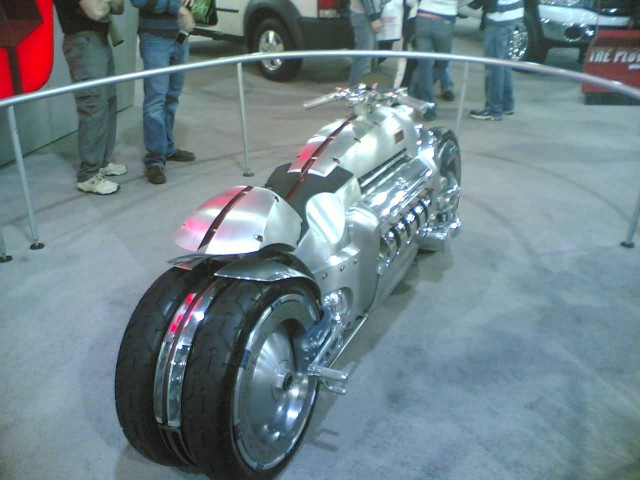 Dodge Tomahawk (Photo Credit: d3media / CC BY-SA 2.0)