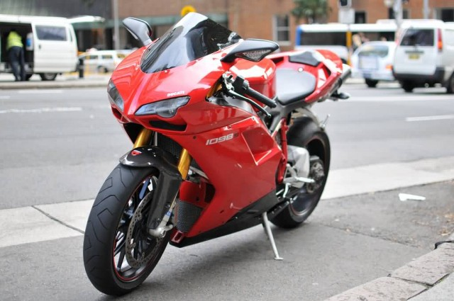 Ducati 1098 (Photo Credit: Aaron Lai  / CC BY 2.0)