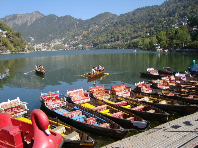 Morning View Of Nainital Lake