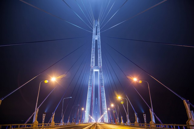 Russky Island Bridge (Photo Credit: Баяков Алексей Александрович  / CC BY-SA 3.0)