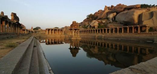 Krishna Pushkarani Hampi Ruins