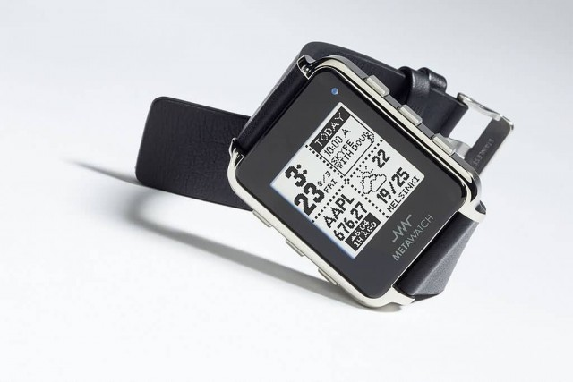 Metawatch Black Frame