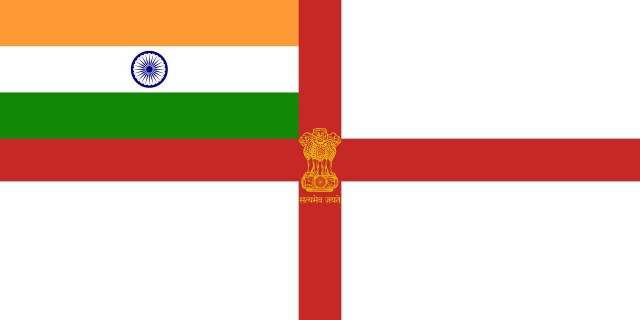 Naval Ensign Of India