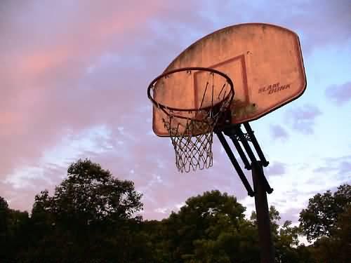 Basketball Goal (Photo Credit: Austin Bjornholt / CC BY-SA 3.0)