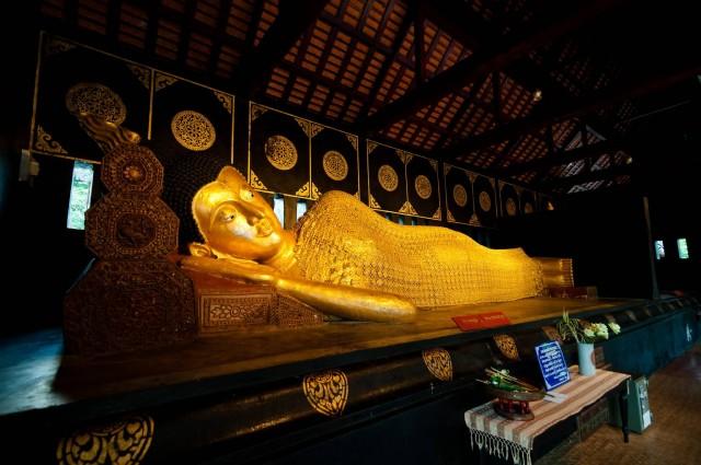 Reclining Buddha, Chiang Mai