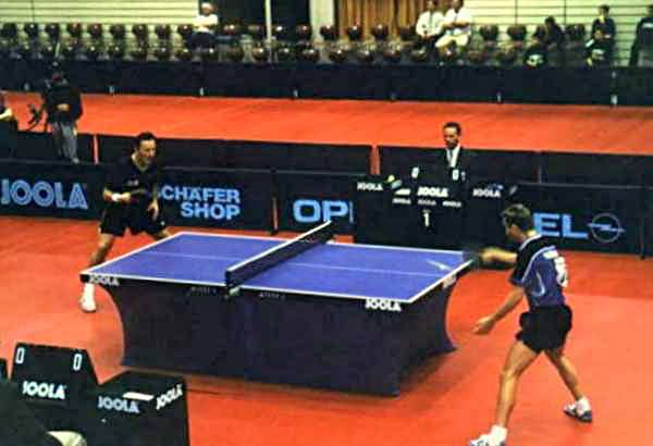 Competitive Table Tennis (Photo Credit: wikipedia / CC BY-SA 3.0)