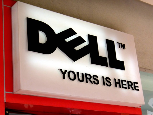 Dell Logo (Photo Credit: Ninjakeg / CC BY-SA 3.0)