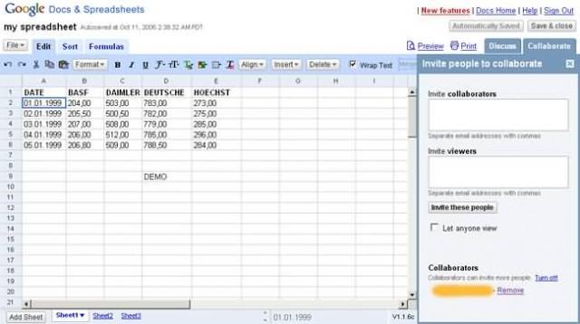 Google Docs, Sheets, Slides and Forms