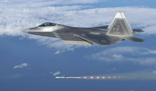 F-22A Raptor (Photo Credit:  Master Sgt. Michael Ammons/ Public Domain)