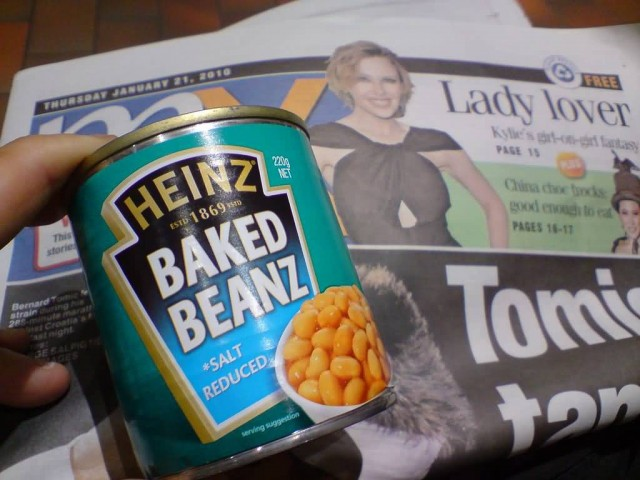 Heinz Baked Beans (Photo Credit: Alpha / CC BY-SA 2.0)