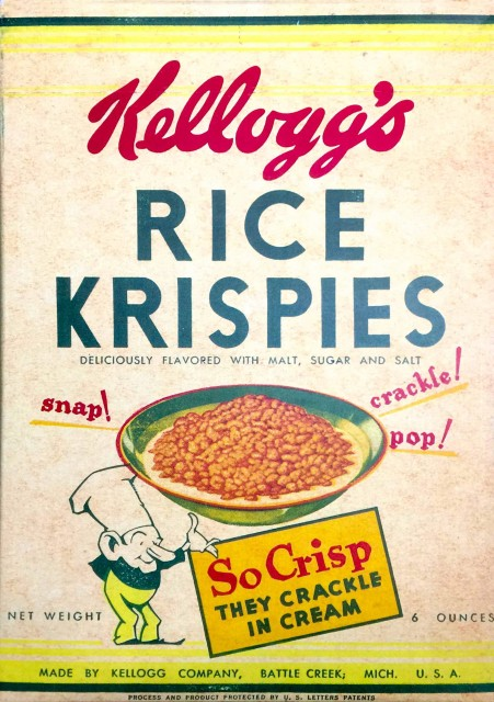 Kelloggs Rice KArispies (Photo Credit: Smash the Iron Cage  / CC BY-SA 4.0)