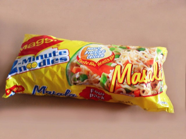 Maggi Masala Noodles (Photo Credit: Sixth6sense / CC BY-SA 4.0)