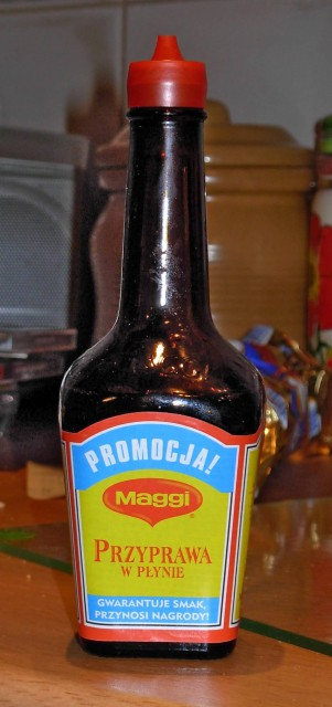 Maggi Souce (Photo Credit: wikipedia / CC BY-SA 3.0)