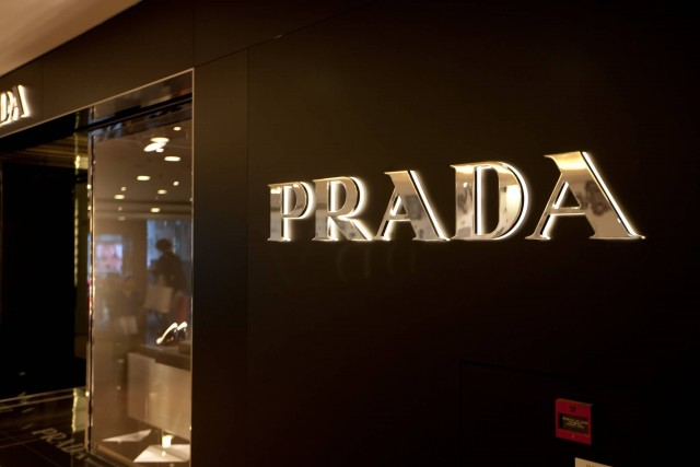 Prada Logo (Photo Credit: FuFu Wolf / CC BY 2.0)