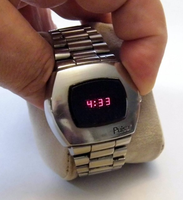 Pulsar LED Watch