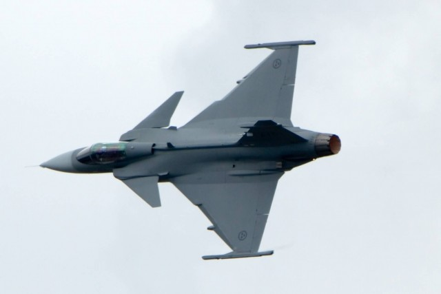 Saab JAS 39 (Photo Credit: MatthiasKabel  / CC BY-SA 3.0)