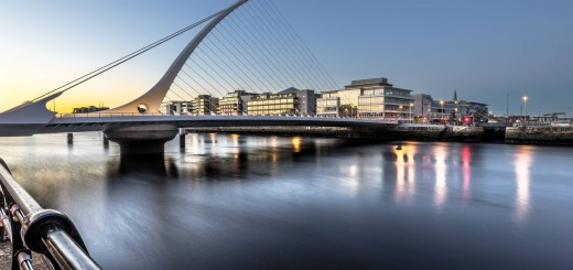 Samuel Beckett Bridge At Sunset (Photo Credit: Giuseppe Milo / CC BY 2.0)