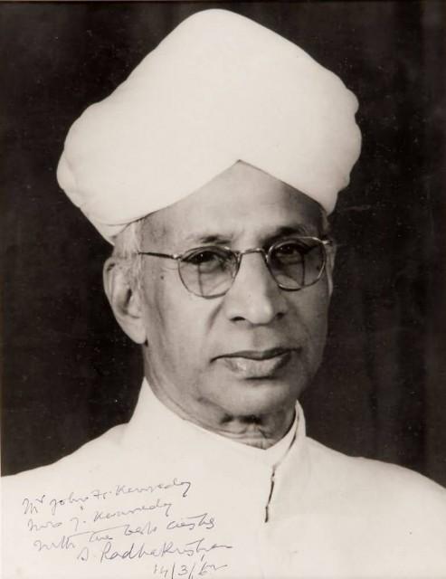Dr.Sarvepalli Radhakrishnan
